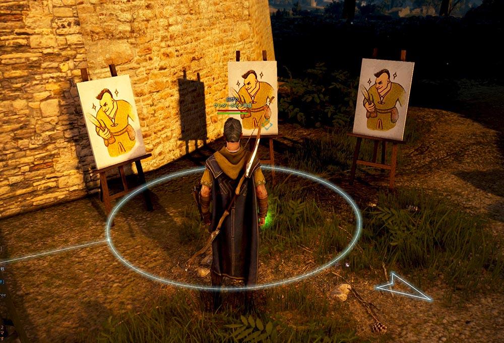 ハビエルの肖像画『肖像画は誰でも描くわけではない』黒い砂漠